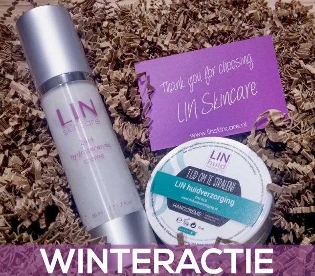 Handcrème bij uw bestelling van een flacon 24H crème van LIN Skincare