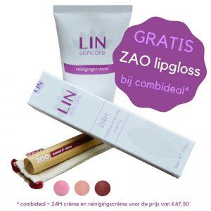 LIN Skincare - Gratis Lipgloss - Actie combideal
