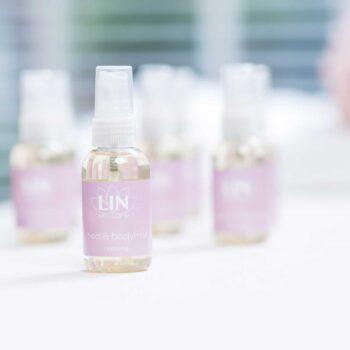 De ontspannende en heerlijk geurende bed- & bodymist van LIN Skincare