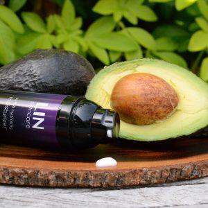 LIN Skincare - Moisturizer. Heerlijke ingredienten zoals avocado