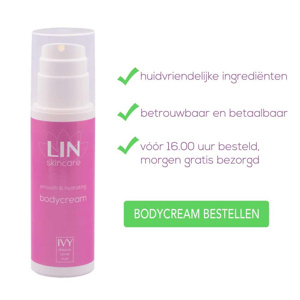Bodycream bestellen - de oplossing voor een droge huid