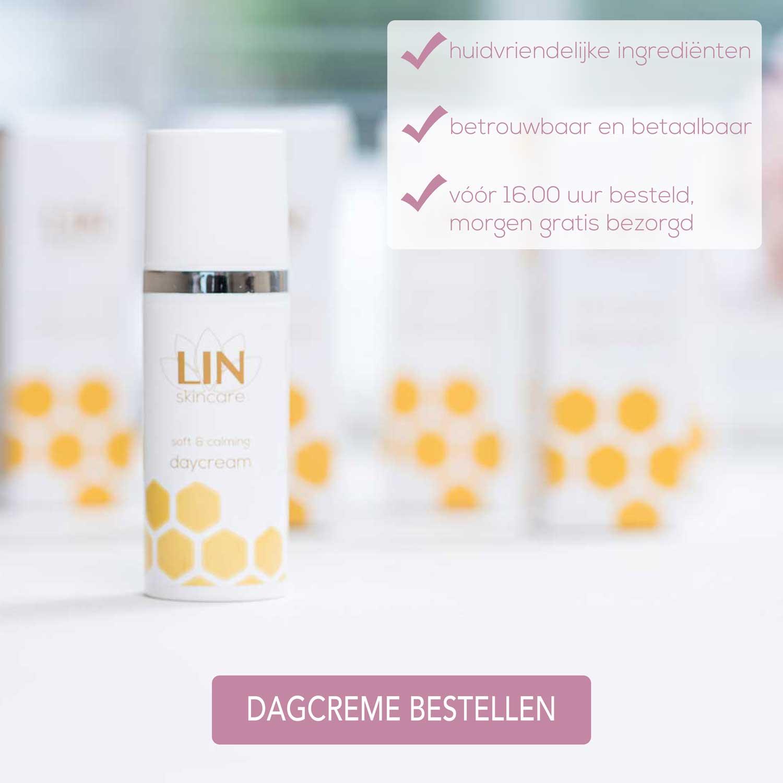 Kalmerende dagcreme van LIN Skincare