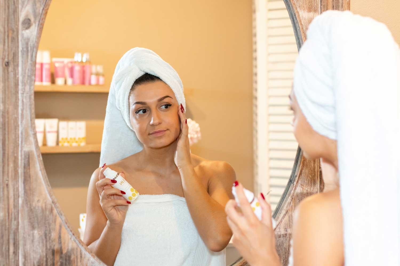 Ervaar de kalmerende dagcrème van LIN Skincare!