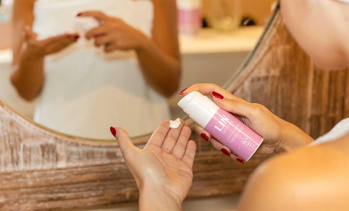 Verzorg je handen met de handcrème van LIN Skincare