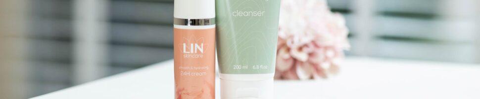 Combideal 24H crème en cleanser - LIN Skincare