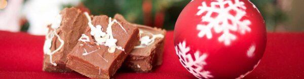 Kerst, eten, puistjes, reinigen huid met LIN Skincare