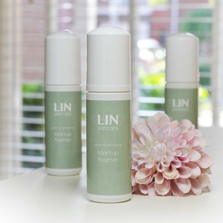 Startup Foamer van LIN Skincare