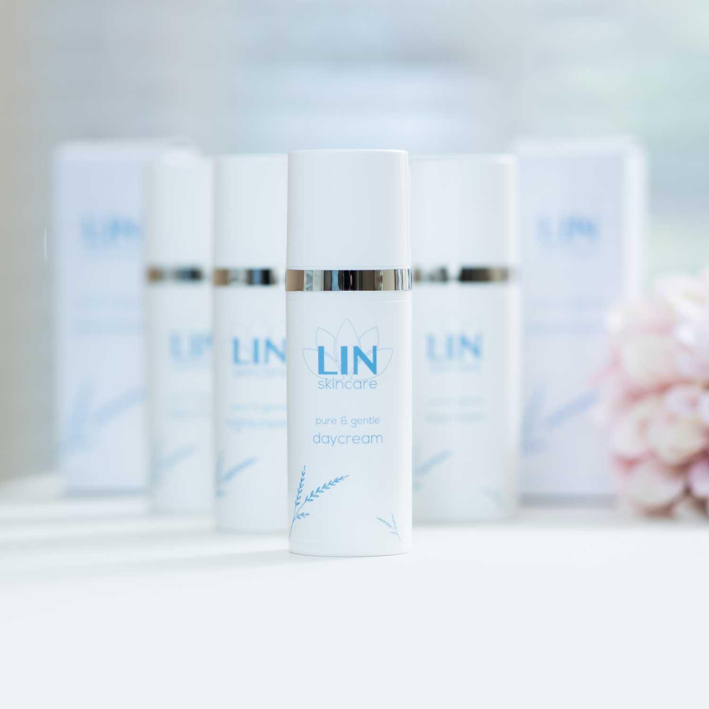 Zuiverende dagcrème voor de vette huid van LIN Skincare