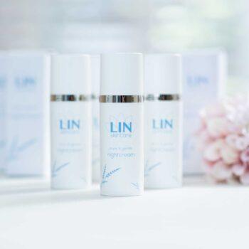 Verzachtende nachtcrème voor de vette huid van LIN Skincare